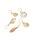 THEATRE PRODUCTS(シアタープロダクツ)の「ハンドペイントシェル ピアス(S)(ピアス(両耳用))」|ナチュラル