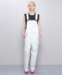 <PAY DAY×H>WHITE OVERALL/オーバーオール