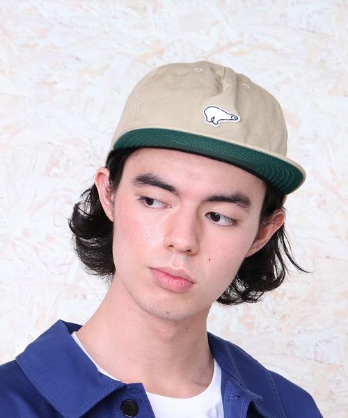 【EBBETS FIELD FLANNELS/エベッツフランネルフィールド】BCI MOTIF LOGO CAP