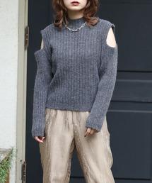 kataaki rib knitダークグレー