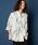 unrelaxing(アンリラクシング)の「ビッグシルエット柄アロハシャツ オーバーサイズ総柄開襟シャツ オープンカラーシャツ(シャツ/ブラウス)」 ホワイト系その他3