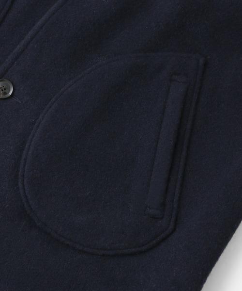 DANTON WOOL MOSSER シングルコート