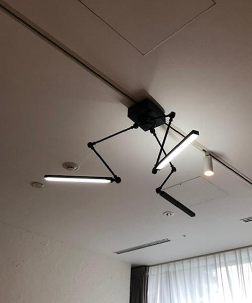 ブリッド スタンドワーカー 3アーム LED 照明 / BRID STAND WORKER_3 ARM LED LIGHT