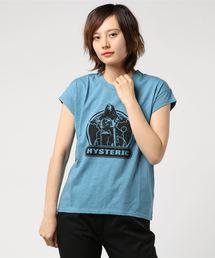 BIKE GIRL Tシャツブルー