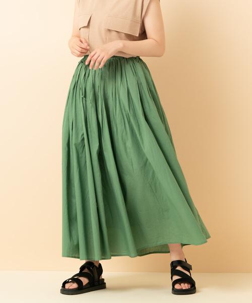 ボイルスカート(インド綿)