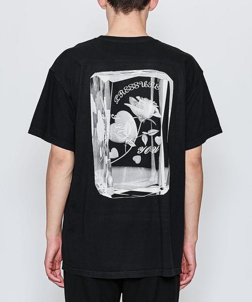 <PRESSURE> CRYSTAL MET TEE/Tシャツ