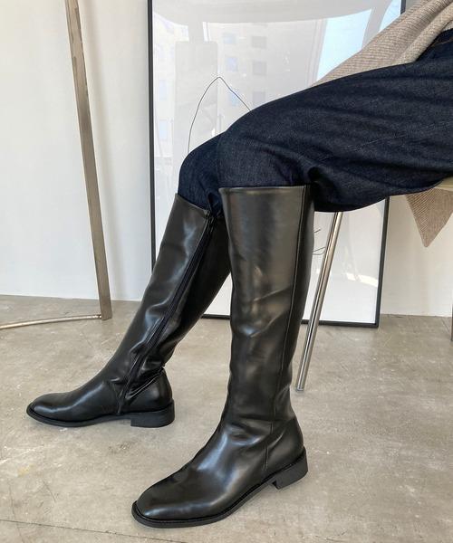 【chuclla】【2020/AW】BASIC LONG-BOOTS chs87