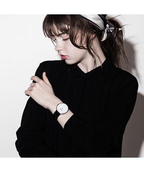 人気商品の KLON ALPHABET TIME ALPHABET Ver.SILVER TIME Ver.SILVER 40mm(腕時計) KLON(クローン)のファッション通販, キタサイタマグン:8d5c4a89 --- fahrservice-fischer.de