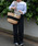 MONIQUE CHARTLAND by GOODY GRAMS(モニークチャートランドバイグッディグラムス)の「JUTE TRAVEL BAG ジュート トラベル バッグ(かごバッグ)」 ブラック