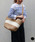 MONIQUE CHARTLAND by GOODY GRAMS(モニークチャートランドバイグッディグラムス)の「JUTE TRAVEL BAG ジュート トラベル バッグ(かごバッグ)」 詳細画像
