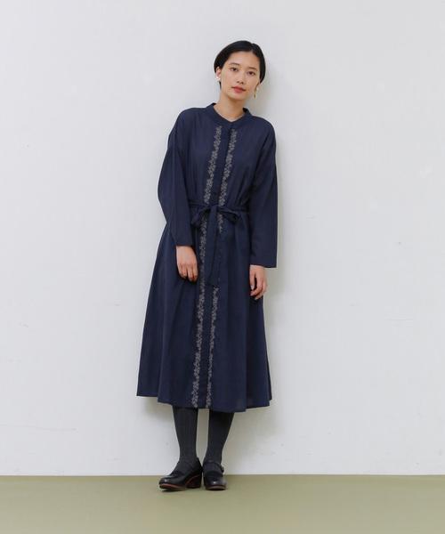 【正規通販】 ボタニカル刺繍ワンピース, GRAMOROUS 0f4e6ebb
