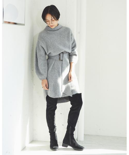オリジナル ベルティッドラクーンニットワンピース(ワンピース)|SNIDEL(スナイデル)のファッション通販, 『4年保証』:4617a636 --- affiliatehacking.eu.org