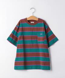◆【ジュニア】LEE(リー)マルチボーダーTシャツ