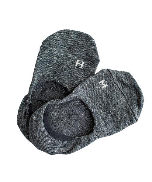 ∴【 Homie / ホミー 】 リネン フットウエア  くるぶしソックス リネン 靴下 LINEN FOOT WEAR  H-046・・