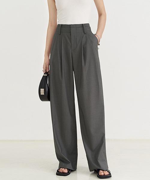 【Fano Studios】【2021SS】double waist casual trousers FX21K089
