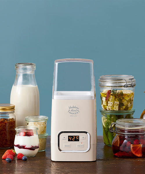 IDEA LABEL(イデアレーベル)の「発酵フードメーカー(キッチンツール)」|ベージュ