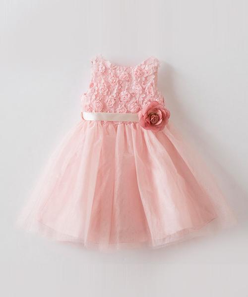 ローズラメチュールベビードレス