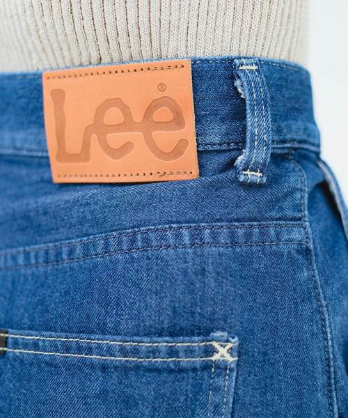 Lady Lee スカート感覚ではきやすいタックワイドパンツ
