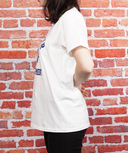 プリント半袖Tシャツ(IR)