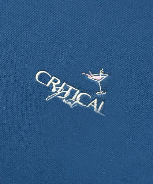 【CRITIC】クリティカル ロゴ フードパーカー