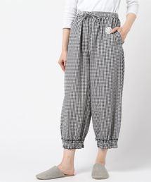 Et grenier by Samansa Mos2(エ グルニエ バイ サマンサ モスモス)の裾シャーリングパンツ(ルームウェア/パジャマ)
