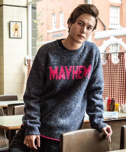 【激安大特価!】  MAYHEM knit// メイヘムニット(ニット/セーター) knit|glamb(グラム)のファッション通販, firstport e.shop:867b60eb --- ulasuga-guggen.de