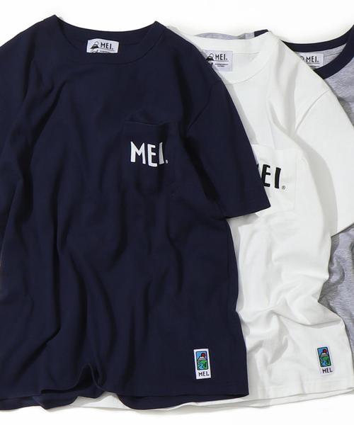 【GO OUT7月号掲載】【女性にも人気】MEI(メイ)別注ポケットTシャツ
