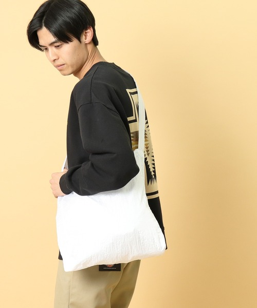 〇【 TICKET TO THE MOON / チケットトゥザムーン 】パラシュートエコマーケットバッグ TM-BAG CUR