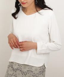 TRUDEA(トルディア)のソフトVネックプルオーバー(Tシャツ/カットソー)