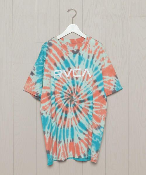<RVCA>TIE DYE MOTIF T-SHIRT/Tシャツ