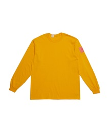 SPRING2021 CREW NECK LONG SLEEVE T-SHIRTイエロー
