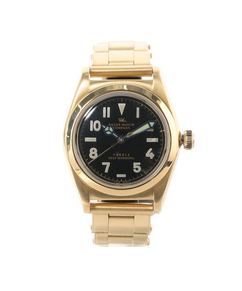 堅実な究極の VAGUE WATCH Co × BEAMS LIGHTS/ 別注 VABL 自動巻き LIGHTS Co 青針 自動巻き 腕時計(置時計) BEAMS LIGHTS(ビームスライツ)のファッション通販, パーティーコレクション クレア:ae626d0b --- kredo24.ru