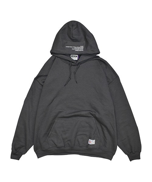 DOUBLE STEAL(ダブルスティール)の「HOOD IN EMBROIDERY 裏起毛 パーカー(パーカー)」|詳細画像