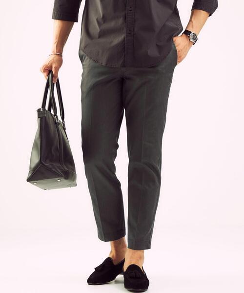< 機能 / 吸水速乾・ストレッチ > CSN デニムライク スマートレッグ 9分丈 パンツ #
