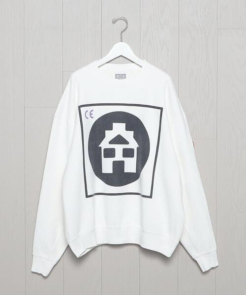 <C.E>CIRCLE HOME CREW NECK PULLOVER/カットソー.