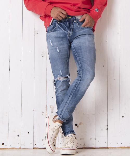 無料発送 ヴィンテージクラッシュカットスキニーデニム(デニムパンツ)|#Re:room(リルーム)のファッション通販, イトマンシ:ea40ac67 --- annas-welt.de