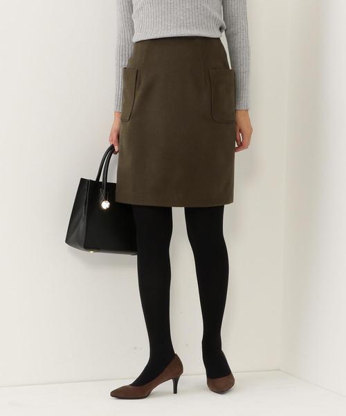 <closet story>Wポケット ミニタイトスカート