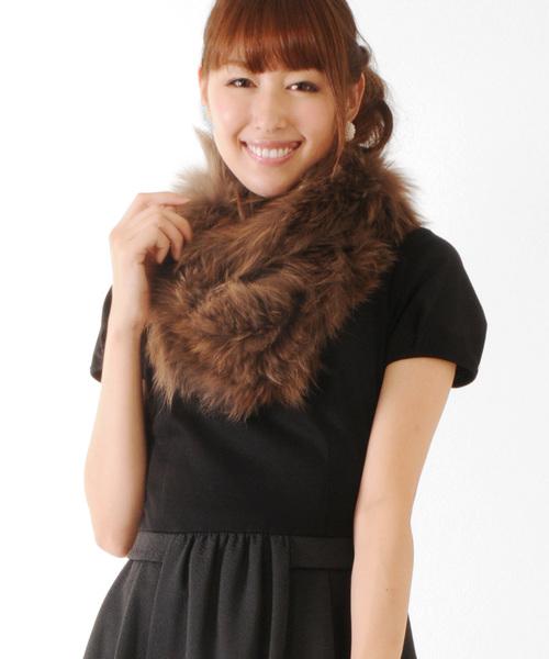 若者の大愛商品 シルバーフォックスファースヌード編み込みロング(ストール/スヌード)|sankyo shokai(サンキョウショウカイ)のファッション通販, Dainese Japan:fb2c1aaa --- hundeteamschule-shop.de