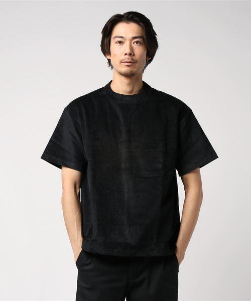 満点の Corduroy Short Sleeve(Tシャツ/カットソー) Short|.efiLevol(エフィレボル)のファッション通販, イズモシ:60194ed7 --- frauenurlaub-ostsee-schlei.de