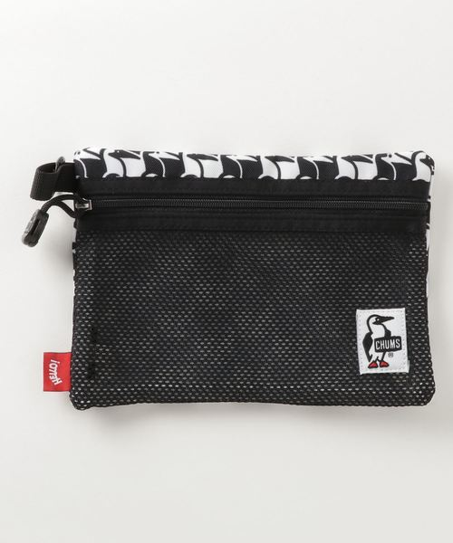 CHUMS(チャムス)の「Eco Flat Pouch S(A6)(ポーチ)」|カモフラージュ