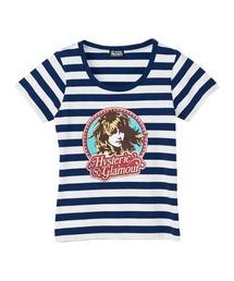 CALIFORNIA LADY Tシャツネイビー