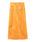 SNIDEL(スナイデル)の「スウェードミドルスカート(スカート)」|オレンジ