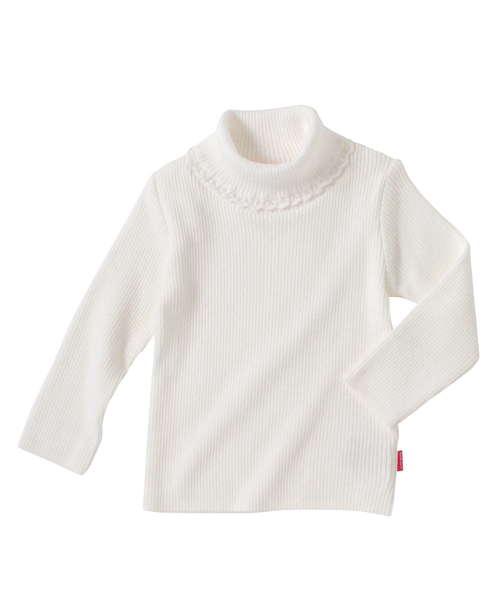 綿ニットタートルセーター