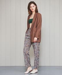 <H>GEOMETRIC PRINT PANTS/パンツ