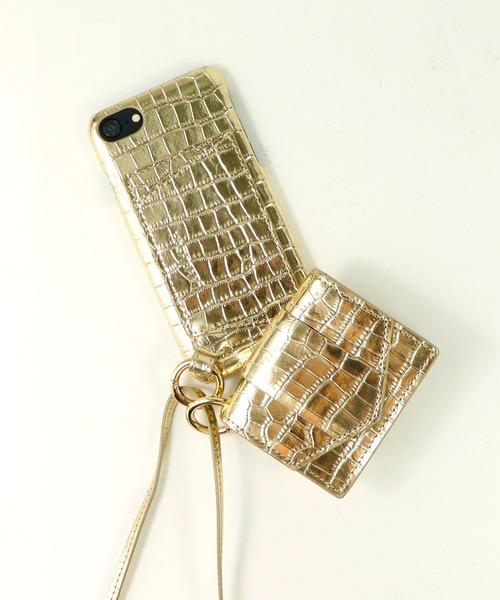 【 Hashibami / ハシバミ 】ミニポーチ付き 8/7/6/6s iphoneケース Ha-2008-731