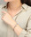 agete(アガット)の「トノーフェイスジュエリーウォッチ 【AGETE.52YG時計】(アナログ腕時計)」 詳細画像