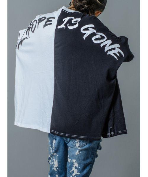 スーパービッグシルエットTシャツ ポンチョタイプ ユニセックス