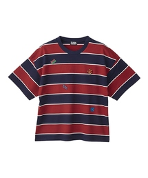 LOGO SCRATCH刺繍 Tシャツ