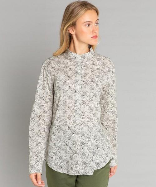 正規品 IBU6 CHEMISE b. CHEMISE フラワープリントシャツ(シャツ agnes/ブラウス)|agnes b.(アニエスベー)のファッション通販, 夷隅郡:6fbf338e --- svarogday.com