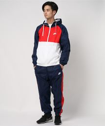 NIKE(ナイキ)のAS M NSW CE TRK SUIT HD WVN BV3026-410(ブルゾン)